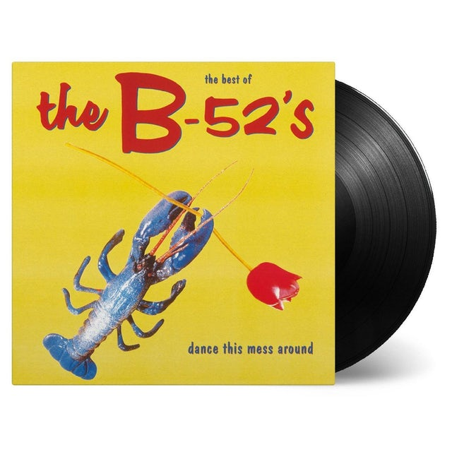 The B-52's DANCE THIS MESS AROUND: THE BEST OF Vinyl Record