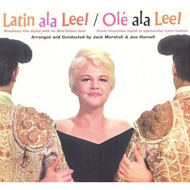 Peggy Lee LATIN ALA LEE! + OLE ALA LEE! CD