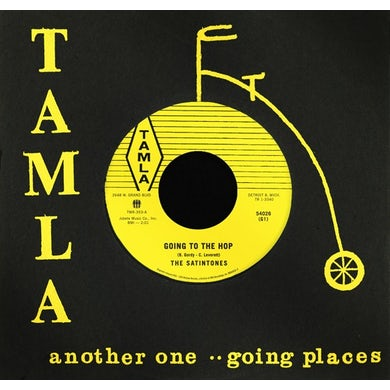 Satintones GOING TO THE HOP / MOTOR CITY Vinyl Record