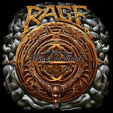 Rage BLACK IN MIND CD