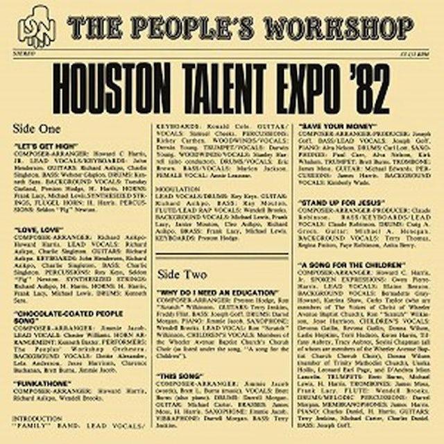 PEOPLE'S WORKSHOP HOUSTON TALENT EXPO 82 Vinyl Record - UK Release