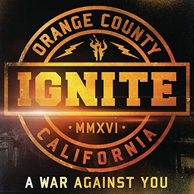 Ignite WAR AGAINST YOU: LIMITED EDITION CD