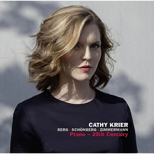 Cathy Krier BERG/SCHONBERG/ZIMMERMANN: PIANO - 20TH CENTURY Vinyl Record