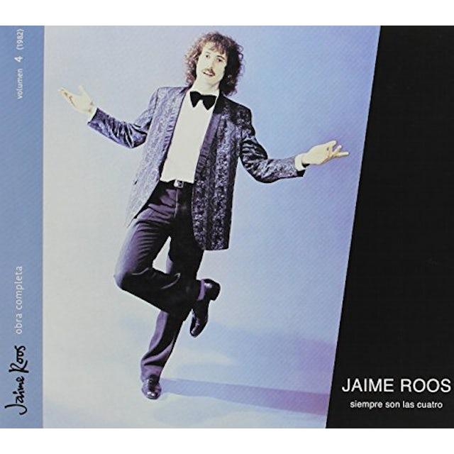 Jaime Roos SIEMPRE SON LAS CUATRO CD