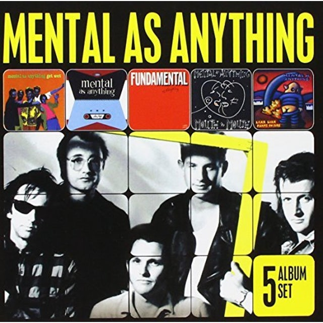Mental As Anything 5 ALBUM SET CD