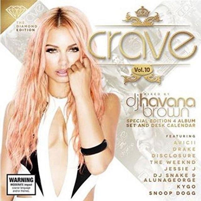 DJ Havana Brown CRAVE VOL. 10: DIAMOND EDITION CD