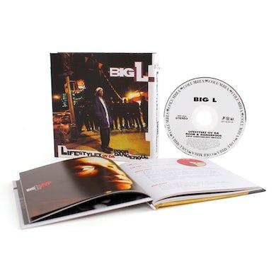 Big L LIFESTYLEZ OF DA POOR & DANGEROUS CD