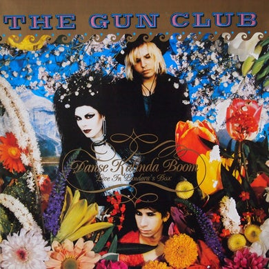 The Gun Club DANSE KALINDA BOOM Vinyl Record