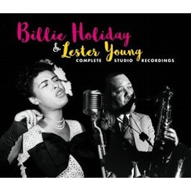 Billie Holiday & Lester Young COMPLETE STUDIO RECORDINGS CD