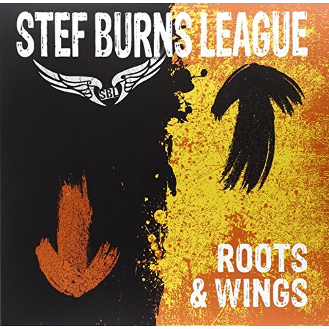 STEF BURNS LEAGUE ROOTS & WINGS (LP+CD) Vinyl Record