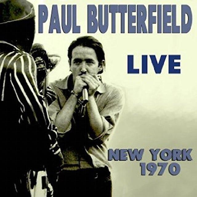 Paul Butterfield LIVE NEW YORK 1970 CD