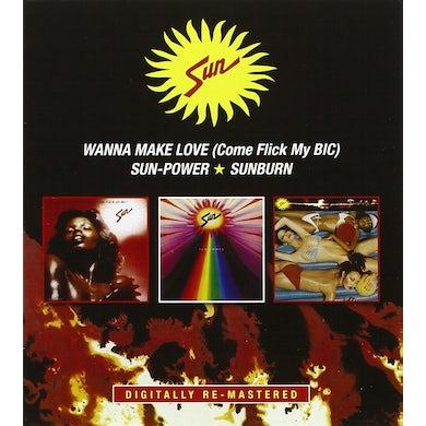 WANNA MAKE LOVE /SUN-POWER/SUNBURN CD