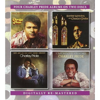 Charley Pride HAPPINESS OF HAVING YOU /SUNDAY MORNING/SHE'S JUST CD