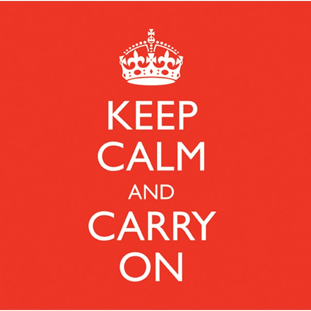 Reflections KEEP CALM & CARRY ON CD