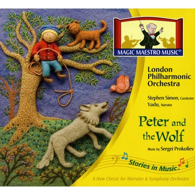 London Philharmonic Orchestra STORIES IN MUSIC: PETER & THE WOLF CD