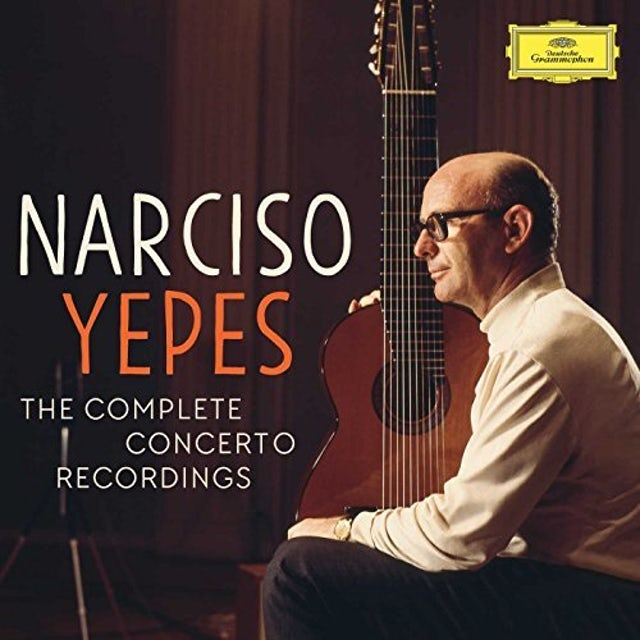 Narciso Yepes YEPES - THE COMPLETE CONCERTO RECORDINGS CD