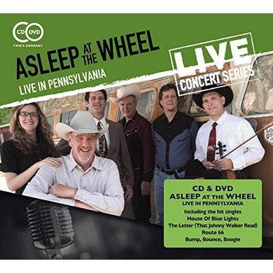 Asleep At The Wheel LIVE IN PENNSYLVANIA CD