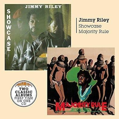Jimmy Riley SHOWCASE & MAJORITY RULE CD
