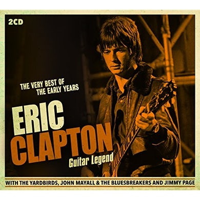 Eric Clapton GUITAR LEGEND: VERY BEST OF THE EARLY YEARS CD