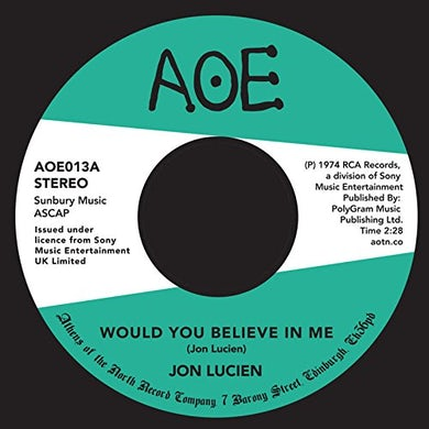 Jon Lucien WOULD YOU BELIEVE IN ME Vinyl Record