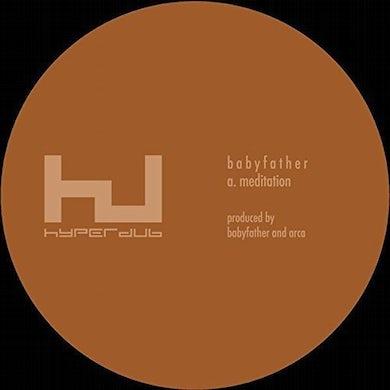BABYFATHER MEDITATION Vinyl Record - 10 Inch Single, UK Release