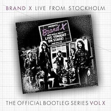 Brand X STOCKHOLME MARCH 30TH 1978 CD