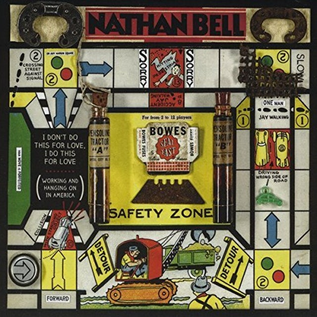 Nathan Bell I DON'T DO THIS FOR LOVE I DO THIS FOR LOVE CD