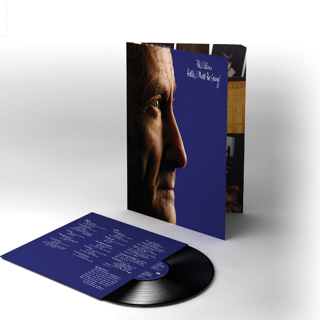 Phil Collins HELLO I MUST BE GOING Vinyl Record