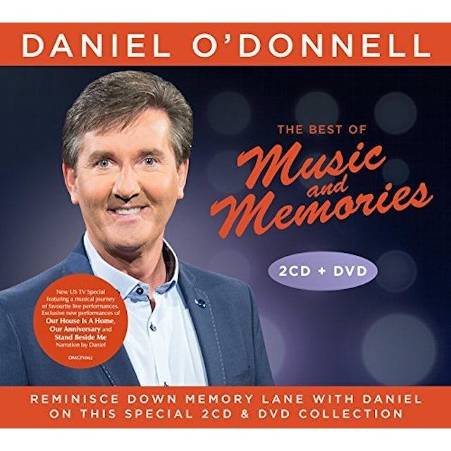 Daniel O'Donnell BEST OF MUSIC & MEMORIES CD