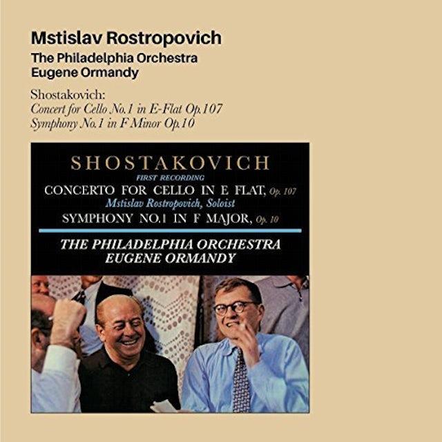 Mstislav Rostropovich PHILADELPHIA ORCHESTRA EUGENE ORMANDY + 4 BONUS CD