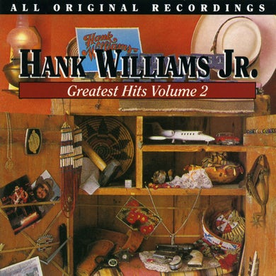 Hank Williams Jr. GREATEST HITS (EARLY) 2 Vinyl Record