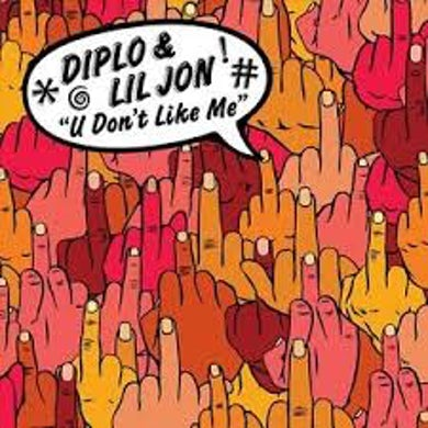 Diplo U DON'T LIKE ME Vinyl Record