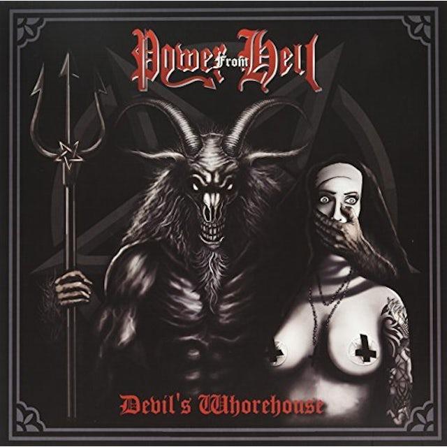 POWER FROM HELL DEVILS WHOREHOUSE Vinyl Record - UK Release