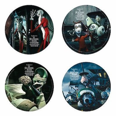 NIGHTMARE BEFORE CHRISTMAS / Original Soundtrack Double Picture Disc Vinyl Record