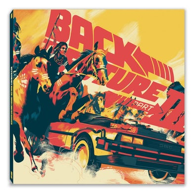 Alan Silvestri BACK TO THE FUTURE PART III (SCORE) / Original Soundtrack Vinyl Record