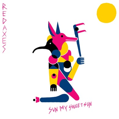 Red Axes SUN MY SWEET SUN Vinyl Record