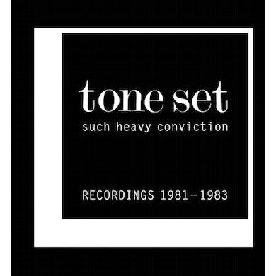 TONE SET SUCH HEAVY CONVICTION: RECORDINGS 1981-1983 Vinyl Record