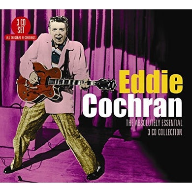 Eddie Cochran ABSOLUTELY ESSENTIAL 3CD COLLECTION CD