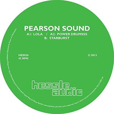 Pearson Sound STARBURST Vinyl Record