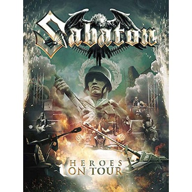 Sabaton HEROES ON TOUR (WITH BONUS BLU-RAY) CD
