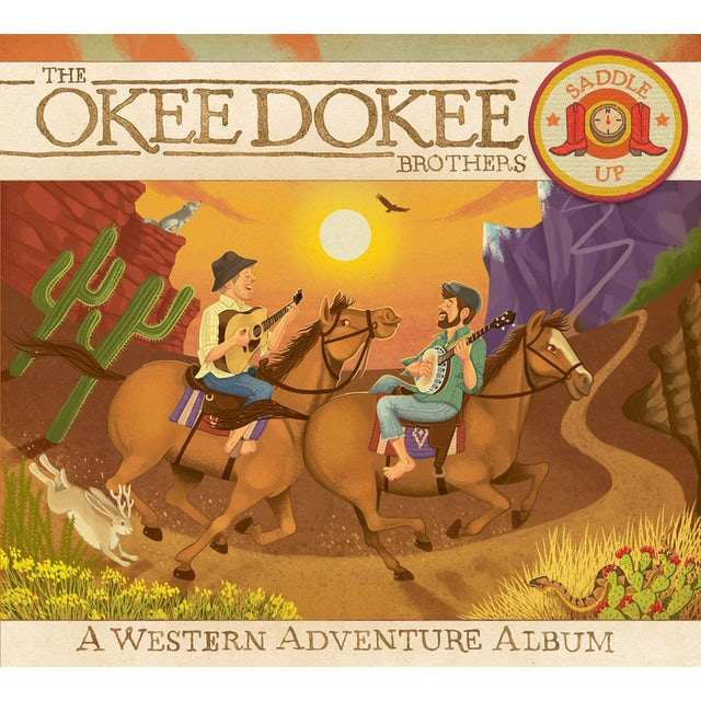 Okee Dokee Brothers SADDLE UP CD