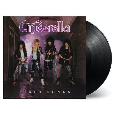 Cinderella NIGHT SONGS Vinyl Record