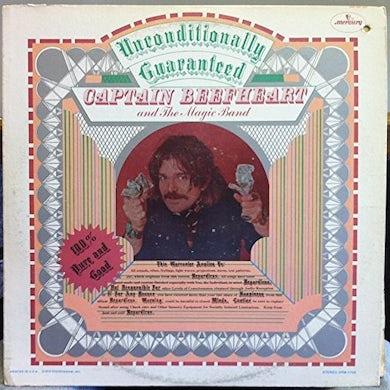 Captain Beefheart UNCONDITIONALLY GUARANTEED Vinyl Record