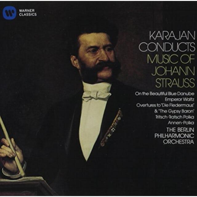 Herbert Von Karajan KARAJAN CONDUCTS MUSIC OF JOHANN STRAUSS CD