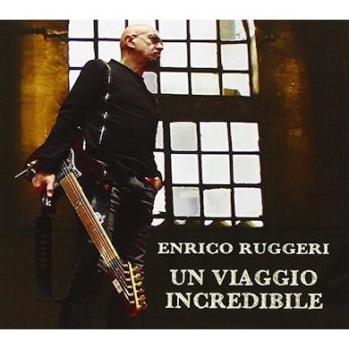 Enrico Ruggeri UN VIAGGIO INCREDIBILE CD