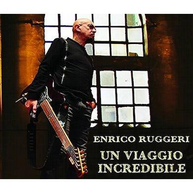 Enrico Ruggeri UN VIAGGIO INCREDIBILE Vinyl Record