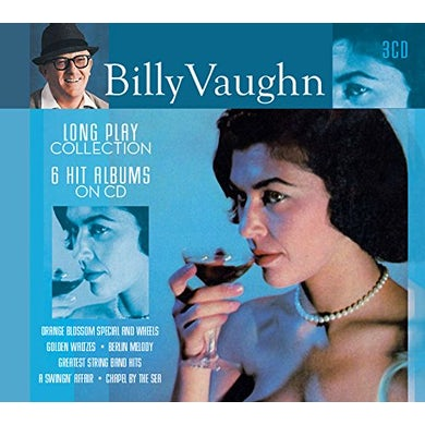 Billy Vaughn LONG PLAY COLLECTION: 6 HIT ALBUMS ON CD CD