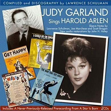 Judy Garland SINGS HAROLD ARLEN CD