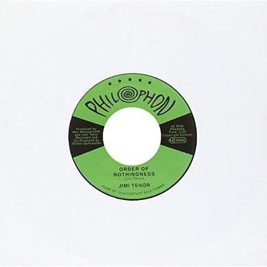 Jimi Tenor ORDER OF NOTHINGNESS Vinyl Record