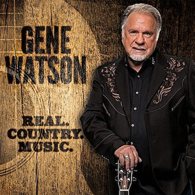 Gene Watson REAL COUNTRY MUSIC CD
